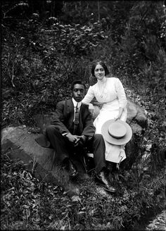ADDISON SCURLOCK | FAMOUS BLACK PHOTOGRAPHERS— Addison Scurlock with his wife, Mamie Estelle, early 1900s.Addison Scurlock (1883-1964) was the photographer of black Washington. His portraits – in particular those of the black elite – frame our understanding and memories of their lives in the first half of the 20th century.  Black History Album Find Us On Tumblr | Pinterest | Facebook  | Twitter