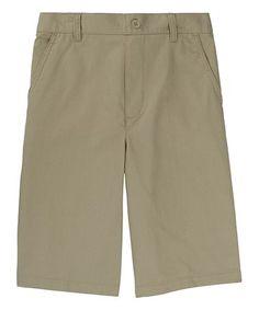 Look at this #zulilyfind! Khaki Pull-On Shorts - Toddler #zulilyfinds