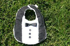 tuxedo bib