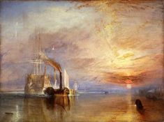 Joseph Mallord William Turner - The Fighting Temeraire (1839) The National Gallery, London