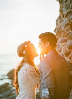A beautiful Laguna Beach engagement