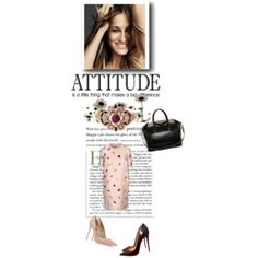"#smiling is a #attitude... :) new #post on www.robyzlfashionblog.com with #stellamcCartney #dress #givenchy #bag #louboutin and #dolcegabbana #shoes  Stella McCartney Dolce & Gabbana Christian Louboutin Givenchy  ""Smiling is an attitude"" by robertazl on Polyvore"