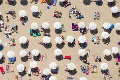 Barcelona Beach Umbrellas - Gary Malin Photography
