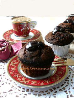 Kahve Soslu Çil,kolatalı Kek