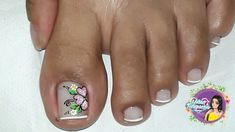 Toe Nail Art, Toe Nails, Manicure And Pedicure, Triangles, Nail Art Designs, Finger Nails, Happy, Simple Toe Nails, Pretty Toe Nails