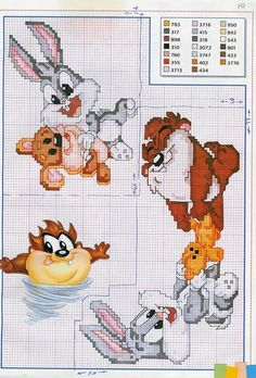 Disney's cross stitch (more patterns)