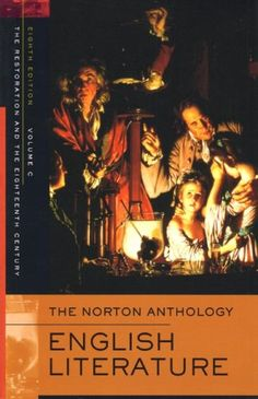 The Norton Anthology of English Literature, Volume C: The Restoration and the Eighteenth Century by Stephen Greenblatt http://www.amazon.com/dp/0393927199/ref=cm_sw_r_pi_dp_mA-Pub0C9NMFP