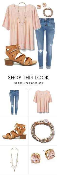 """""""15 more days till spring break!!!"""" by swwbama ❤ liked on Polyvore featuring River Island, Gap, City Classified, 100 Good Deeds, Panacea and Tory Burch"""