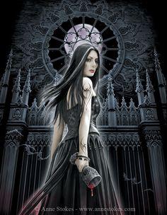 Gothic » Anne Stokes - Gothic Siren