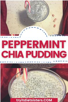 How To Make Sugar-Free Peppermint Chia Seed Overnight Pudding. Perfect for low carb and keto diets, or just to get your extra omega-3s in for the day Chia Seed Diet, Chia Seeds, Keto Friendly Chocolate, Chocolate Chia Pudding, Unsweetened Coconut Milk, Easy Cheesecake Recipes, Afternoon Snacks, Pudding Recipes, Diets