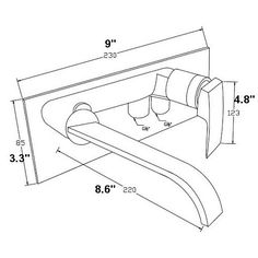 Found it at AllModern - Single Handle Wall Mount Tub Faucet Trim