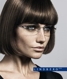 Rimless Glasses Makeup : Rimless glasses, Eyeglasses and Rimless frames on Pinterest