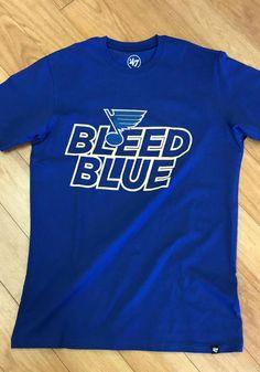 '47 St Louis Blues Blue Regional Super Rival Short Sleeve T Shirt - 48007552 A Team, Team Logo, St Louis Blues, Blue Shorts, Great Books, Regional, Short Sleeve Tee, Long Live, Tees