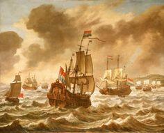 Vierdaagse Zeeslag: overwinning van Michiel de Ruyter op de Engelsen