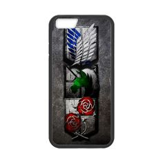 Attack On Titan Three Group Case for iPhone 6