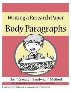 What are some main points I should cover in my research paper about body image?