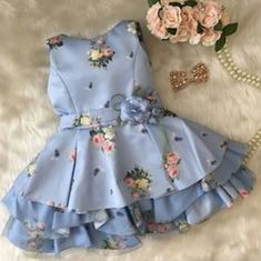 Ideas Baby Girl Outfits Indian For 2019 Baby Girl Party Dresses, Little Girl Dresses, Nice Dresses, Girls Dresses, Pagent Dresses, Dresses Dresses, Fall Dresses, Long Dresses, Dress Long