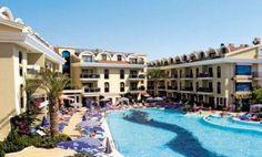 A Hotel Pool in Marmaris Turkey