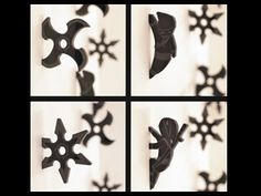 Ninja Star Magnets - I'd lean towards the 4 point ones. Because they're AWESOME. - $10.00