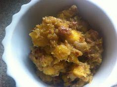 #Whole30 Breakfast- Pumpkin Breakfast Pudding.