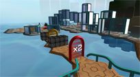 Mathbreakers - an innovative educational game in a 3D virtual world for learning Math in a user-generated world.