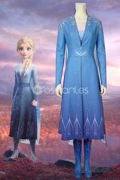 Disney Frozen 2 Elsa Cosplay Costume - Disney Frozen 2 Elsa Cosplay Costume Informationen zu Disney Frozen 2 Elsa Cosplay Costume Pin Sie k - Frozen Cosplay, Elsa Cosplay, Frozen Costume, Disney Fancy Dress, Disney Dresses, Disney Elsa Dress, Frozen 2 Elsa Dress, Disney Cosplay Costumes, Robes Disney