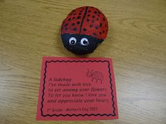Mother's Day Project -- Ladybug