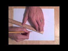 2 Point Perspective Drawing Tutorial, Part 1, How to Draw Perspective Tutorial , with thanks shad1179, to Study resources for Art Students, CAPI ::: Create Art Portfolio Ideas at milliande.com, Art School Portfolio Work