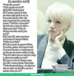Assim q tem ser porra tá achando q é quem pra fala q Min Yoongi é idiota?! Toma essa trouxa