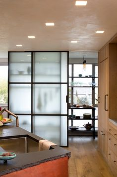 WHOA! A Translucent Panel Pantry Kitchen Inspiration   The Kitchn (Part II)