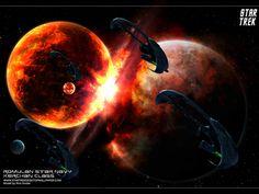 Star Trek hd wallpapers backgrounds desktop, Romulan Star Navy Kerchan Class. See more at www.startrekdesktopwallpaper.com