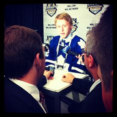 Morgan Rielly meets the media Morgan Rielly, Toronto Maple Leafs, Nhl, Leaves, Instagram Posts