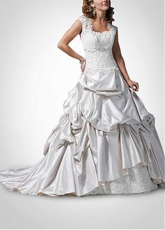 SATIN A-LINE RUFFLED BEADED STRAPLESS WEDDING DRESS LACE BRIDESMAID PARTY BALL COCKTAIL EVENING GOWN FORMAL PROM