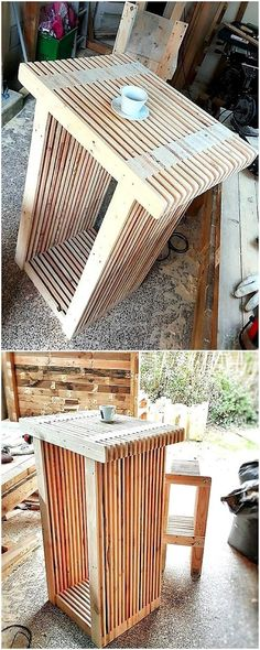 Pallet Ideas: DIY Wood Pallet Furniture Projects and DIY Pallets Recycling Plans Wooden Pallet Projects, Wood Pallet Furniture, Wooden Pallets, Buy Pallets, Pallet Wood, Diy Projects, Diy Furniture Easy, Furniture Making, Pallet Ceiling