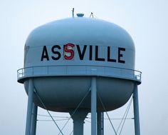 Senior Prank in Ashville, Ohio by Jenny Lewelling, via Flickr