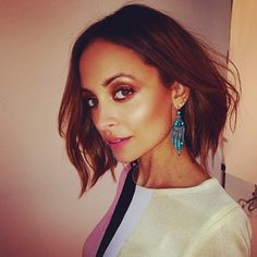 Nicole Richie. I like the color and they way her hair is styled.