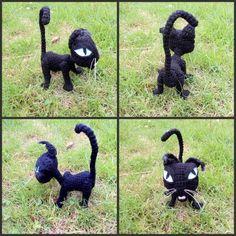 Cat (Coraline) (free pattern)