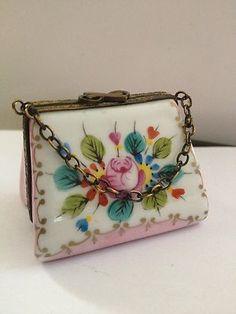 Limoges Floral Pocketbook | eBay