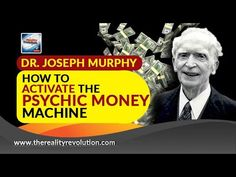 Dr Joseph Murphy Activating The Psychic Money Machine (with extra affirmations and meditation) Joseph Murphy, Meditation Youtube, Neville Goddard, Money Machine, States Of Consciousness, Blue Harvest, Harvest Moon, Healing Quotes, Hypnotherapy