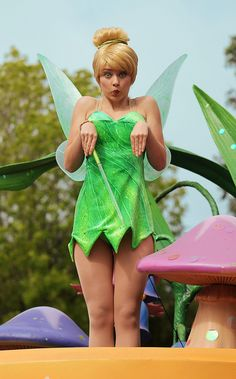 Another pic of my favourite character from Disney World. The gorgeous Tinkerbell ! Walt Disney, Disney Love, Disney Magic, Disney Parks, Disney Stuff, Disney Theme, Tinkerbell And Friends, Disney Fairies, Tinkerbell Fairies