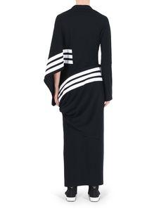 3f75a35f61256  Y 3 STRIPE KIMONO DRESS Long Dresses