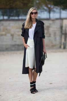 Spring 2014 Street Style Trends: Cool in Culottes Street Style Trends, Top Street Style, Spring Street Style, Street Chic, Paris Street, Street Snap, Spring Style, Love Fashion, Fashion Models