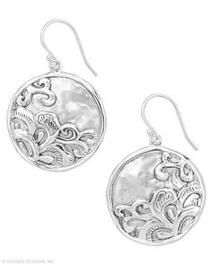 Tidal Wave #Earrings: These crashing waves will help you break any style rule! #SterlingSilver