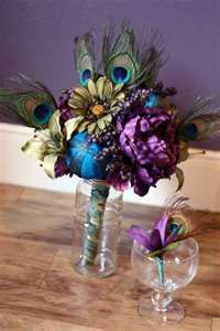 Peacock as a Posie...thinking of someone