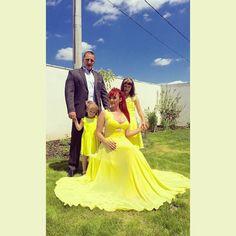 In love with  Anca wearing Elen's dress