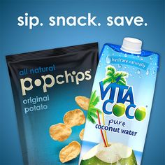 today only! #save 40% on #popchips and #vitacoco #coconutwater on #amazon! #deal