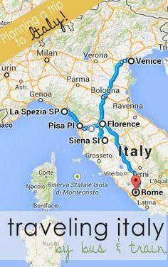 Train Travel Italy | #travel #traveltips #italy