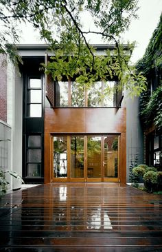 U-House designed by architect Natalie Dionne, is located in Montreal, Canada.