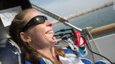 Sailing a lifesaver for record-breaking #quadriplegic yachtswoman Hilary Lister