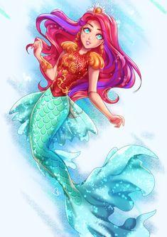 Meeshell Mermaid (Filha da Pequena Sereia)
